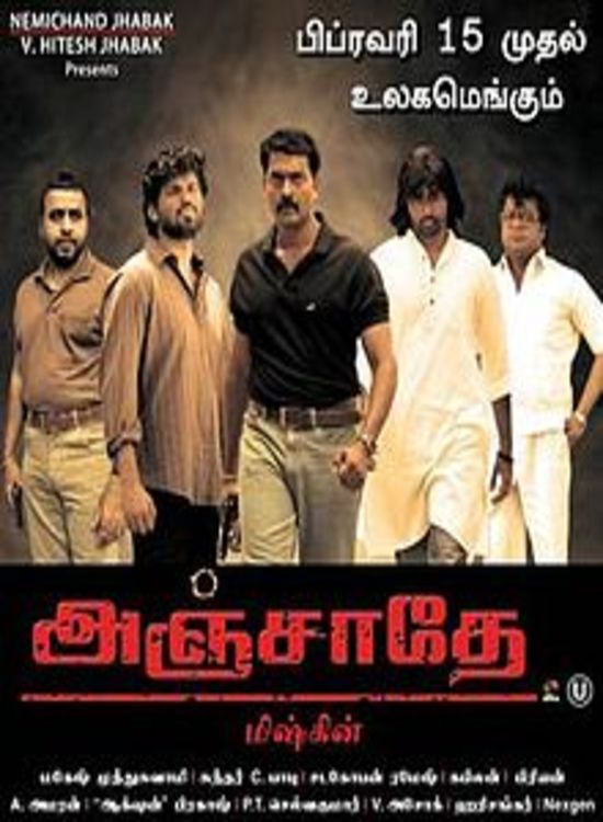Anjathe (2008) Tamil Thriller Full Length Movie Online Free Watch