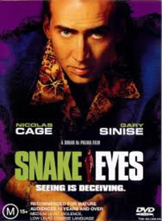 Snake Eyes (1998) Tamil Dubbed Hollywood Movie Online Watch