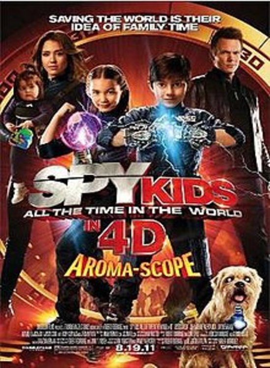 Spy Kids: All the Time in the World (2011) Tamil Dubbed Hollywood Movie Online Free Watch